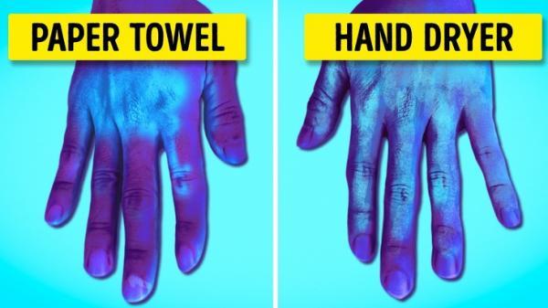 Các nhà khoa học khẳng định máy sấy tay ở nhà vệ sinh lại ảnh hưởng xấu đến sức khoẻ con người