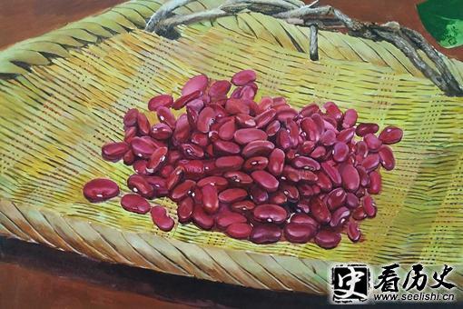 Một hạt đậu đỏ lại chất chứa nỗi tương tư của bao kiếp tình nhân