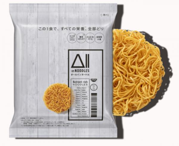 Nhật Bản ra mắt loại mì ăn liền giàu dinh dưỡng, đủ cho một ngày làm việc