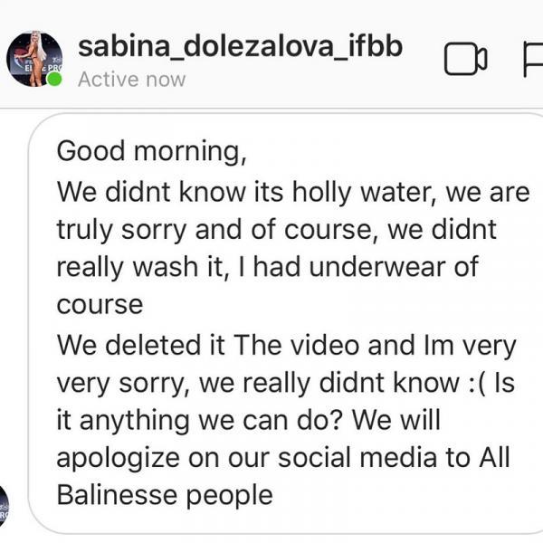 Dùng nước thiêng rửa mông, cặp đôi Instagramer sẽ phải chịu hình phạt gì?