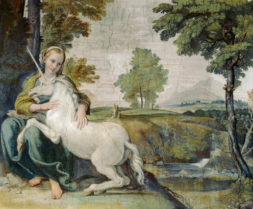 Kỳ lân một sừng: Từ loài thú khát máu trở thành biểu tượng 'cầu vồng' đáng yêu