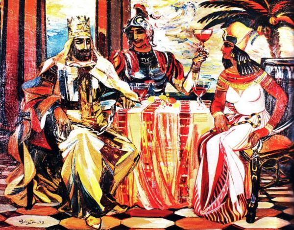 Tái tạo hương nước hoa 2.000 năm tuổi của Nữ hoàng Ai Cập Cleopatra
