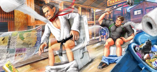 Game mới của Nhật Bản khiến mọi người đặt ngàn dấu hỏi vì quá.... mất vệ sinh