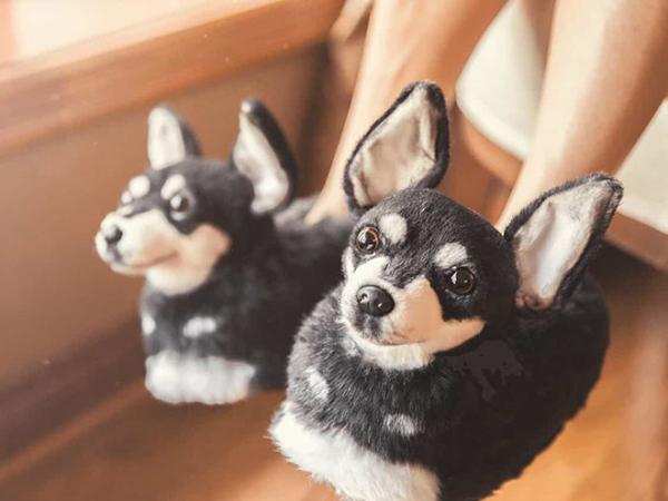 Sản phẩm dành cho các 'con sen': Dép đi trong nhà giống y hệt thú cưng