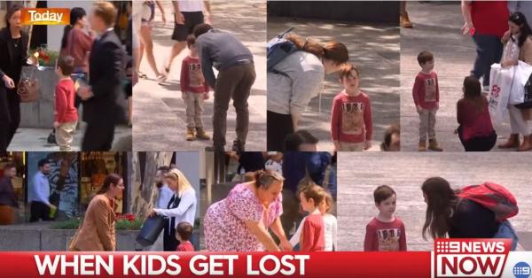 Cậu bé giả vờ bị lạc giữa thành phố, chỉ có 7 người lớn thực lòng muốn giúp đỡ cậu