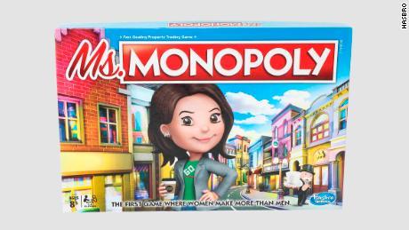Monopoly tung phiên bản mới có lợi cho người chơi nữ