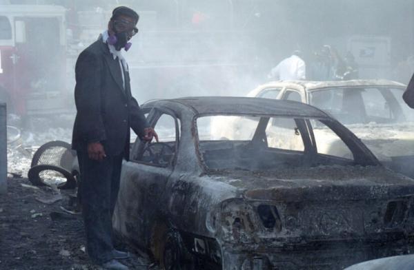 Những bức ảnh lần đầu xuất hiện về sự kiện 11/9 do chính bác sĩ có mặt tại hiện trường chụp lại