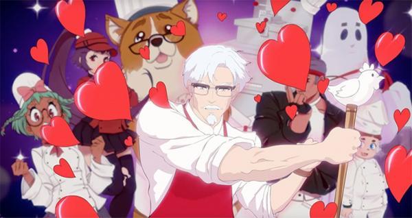 Sợ bán gà chưa đủ giàu hay sao mà KFC còn cho phát hành cả game lãng mạn mới thế này?