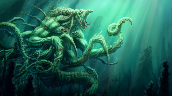 Tổng hợp những loài thủy quái đáng sợ nhất trên thế giới