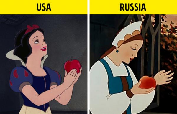 Các nhân vật hoạt hình nổi tiếng thay đổi ra sao khi được chiếu ở các quốc gia khác?
