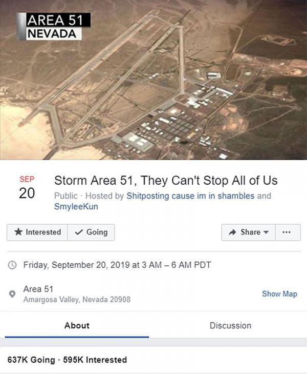Cập nhật Storm Area 51: Thêm 3 người bị bắt và trở thành cảm hứng cho một bộ phim 'nóng'