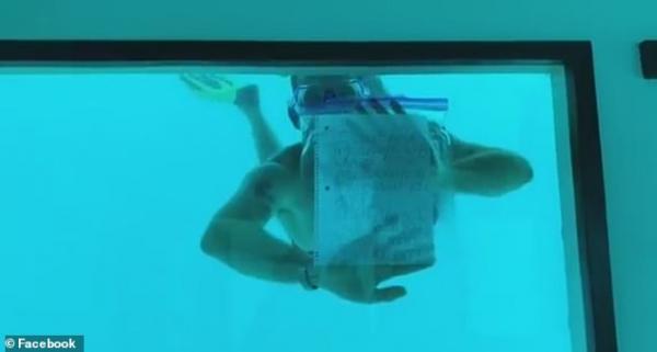 Cô gái đau khổ đăng tải đoạn video ghi lại màn cầu hôn dưới nước khiến bạn trai mình chết đuối