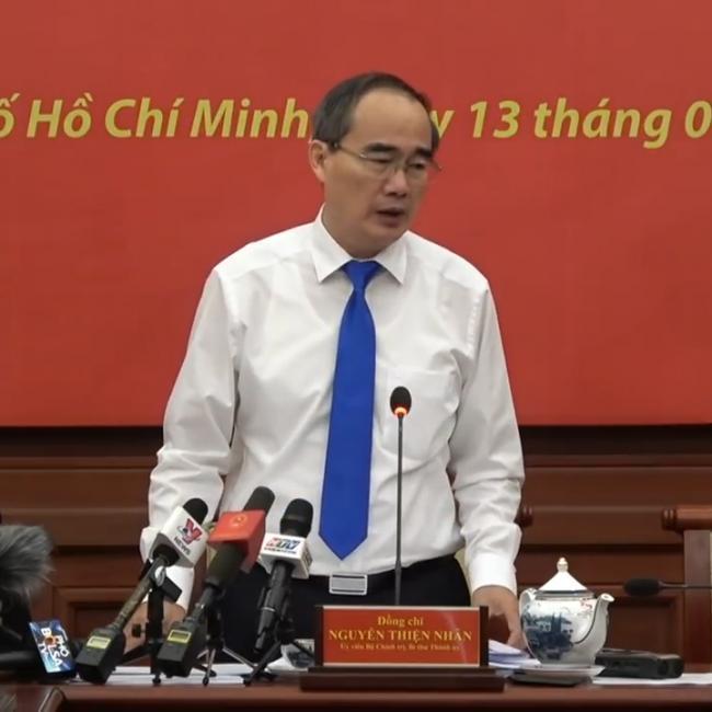 Bí thư thành ủy Nguyễn Thiện Nhân bàn về vấn đề