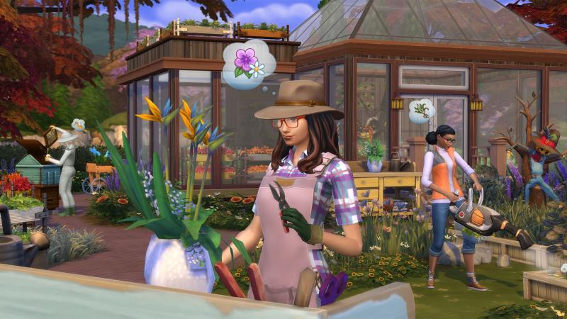 'The Sims 4' cuối cùng đã có chế độ góc nhìn thứ nhất giúp người chơi trải nghiệm chân thật hơn