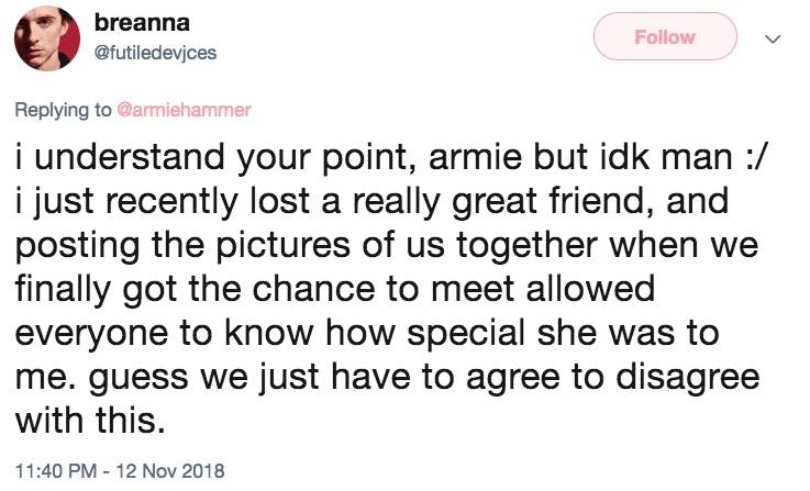 Nghệ sĩ up ảnh selfie với Stan Lee để chia buồn, Armie Hammer nói 'làm màu'