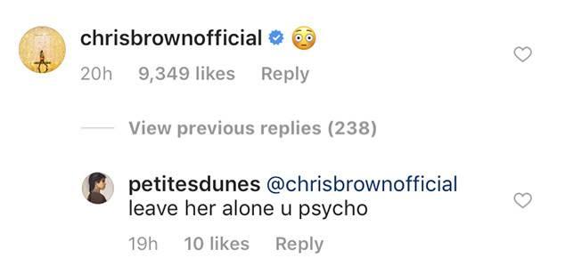 Fan phẫn nộ vì Chris Brown bình luận ảnh gợi cảm của Rihanna sau gần 10 năm xảy ra scandal bạo hành