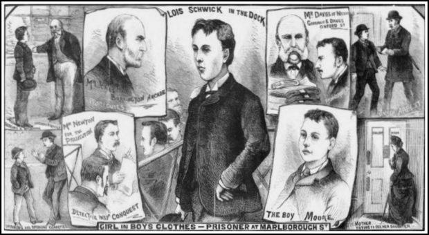 Vụ án kỳ lạ ở thế kỷ 19 về cô gái cải trang thành nam giới để trộm cắp và sự thật phía sau