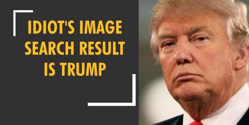 Từ khóa 'idiot' cho kết quả là tổng thống Trump, CEO Google phải giải trình trước quốc hội Mỹ