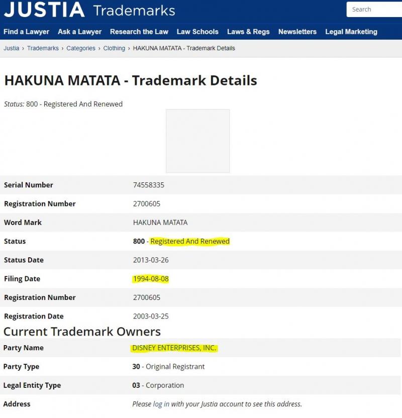 Người Châu Phi phản đối Disney giữ bản quyền thương hiệu 'hakuna matata' trong phim Lion King