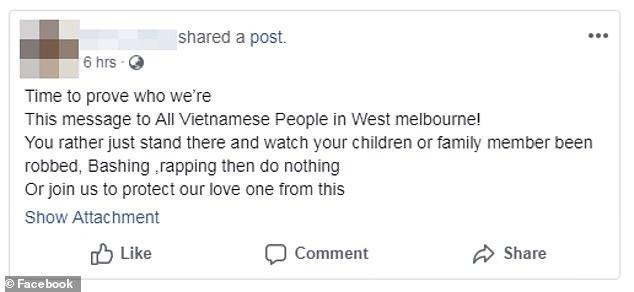 Người Việt ở Úc kêu gọi đoàn kết đánh trả băng cướp da đen hung hăng