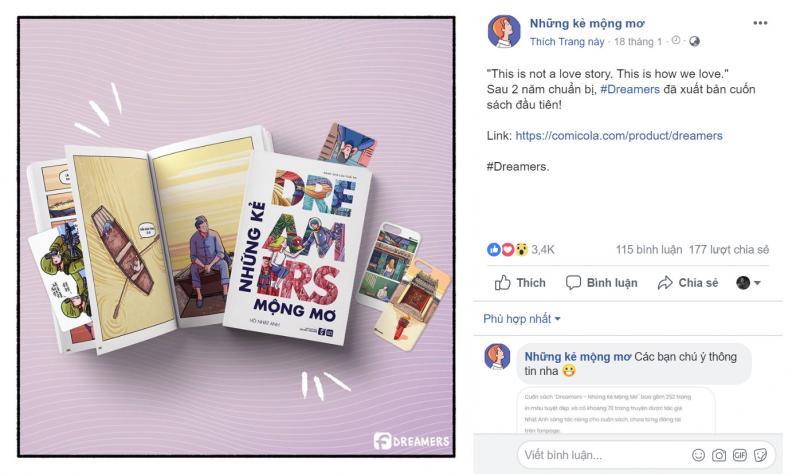 'Lăm le' xuất bản, Những Kẻ Mộng Mơ bị trang Sundae Kids tố đạo nhái và cộng đồng mạng lên án dữ dội