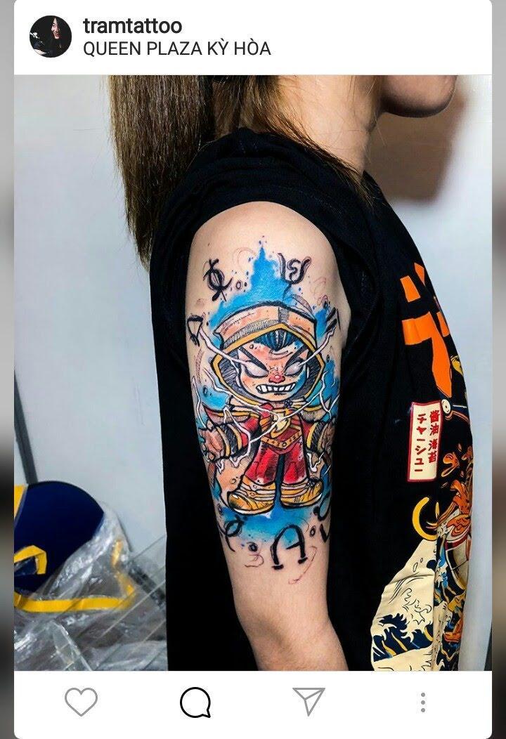 Tham dự 'Vietnam Tattoo Convention' cũng giống như đóng vai Alice lạc vào xứ sở thần tiên!?