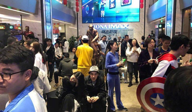 Hơn 3 triệu người Trung Quốc tranh nhau mua vé suất chiếu sớm 'Avengers: Endgame'