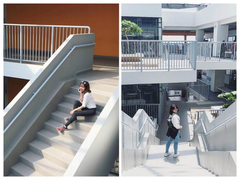 Trường đại học style Hàn Quốc giữa lòng Sài Gòn: 1 mét vuông 1000 góc ảnh đẹp quên sầu