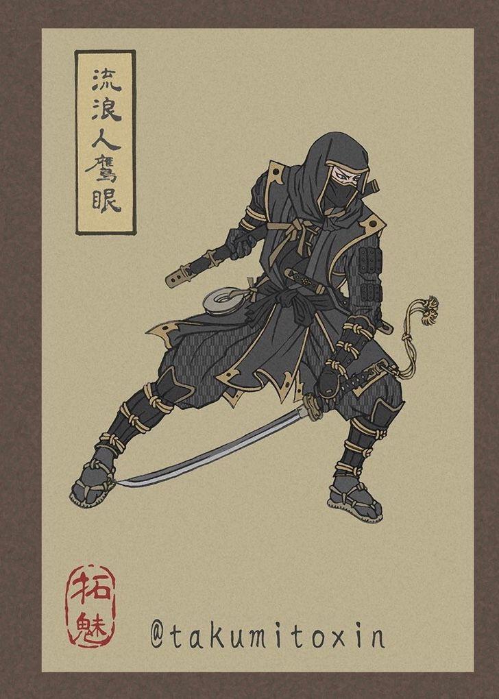 Lạ lẫm mà thân quen xem siêu anh hùng Avengers biến hóa theo phong cách ukiyo-e