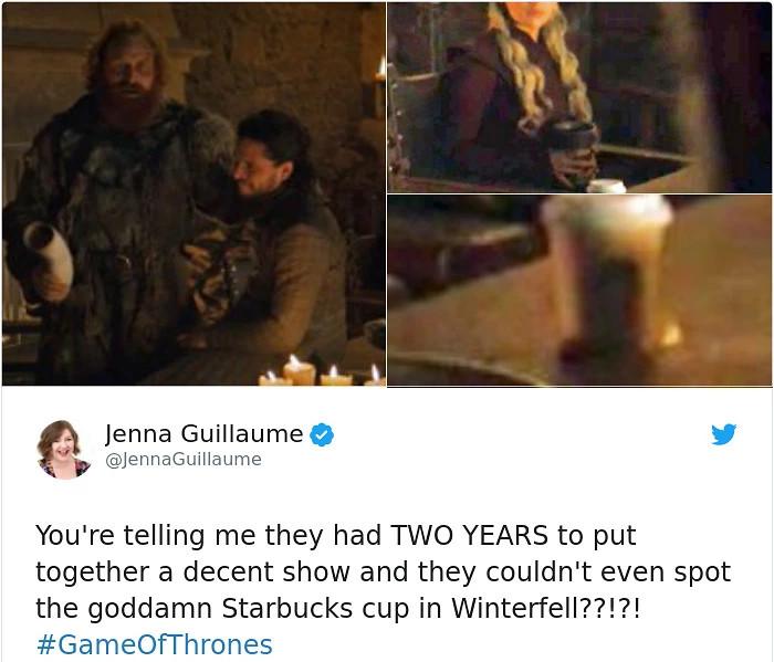 Một ly Starbucks lặng lẽ xuất hiện trong tập 4 'Game of Thrones': Đạo diễn đãng trí hay chiêu quảng cáo trá hình