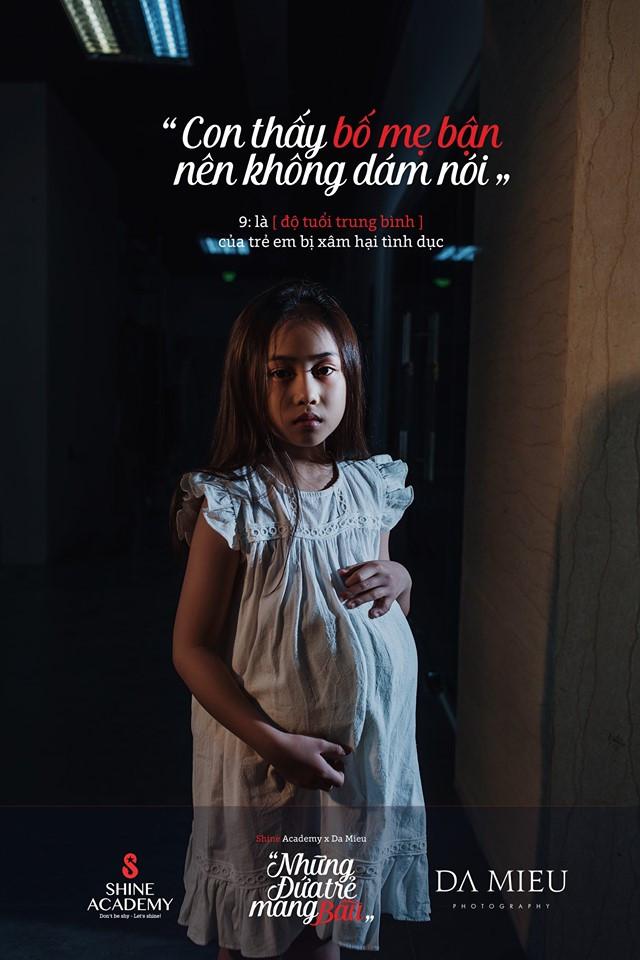 'Những đứa trẻ mang bầu' - bộ ảnh nặng nề về nạn ấu dâm khiến ai cũng phải ám ảnh