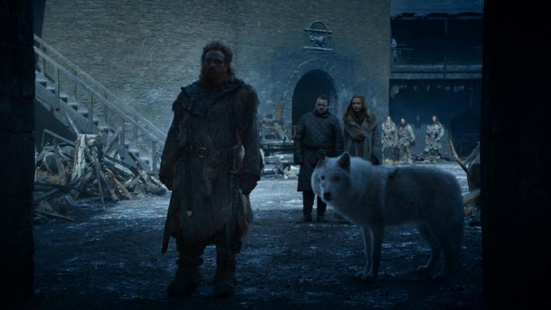 'Game of Thrones ss8': Đạo diễn lý giải vì sao Jon không từ biệt chú chó Ghost trước khi bỏ lại nó