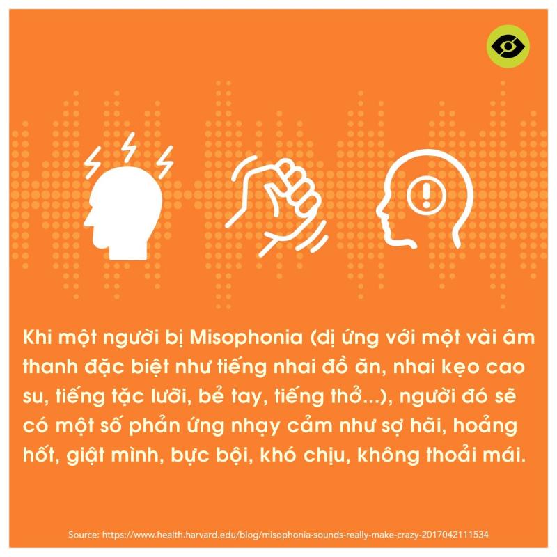 Bạn có mắc hội chứng Misophonia: Sợ hãi khi nghe tiếng nhai kẹo cao su, bẻ tay và cả… tiếng thở?