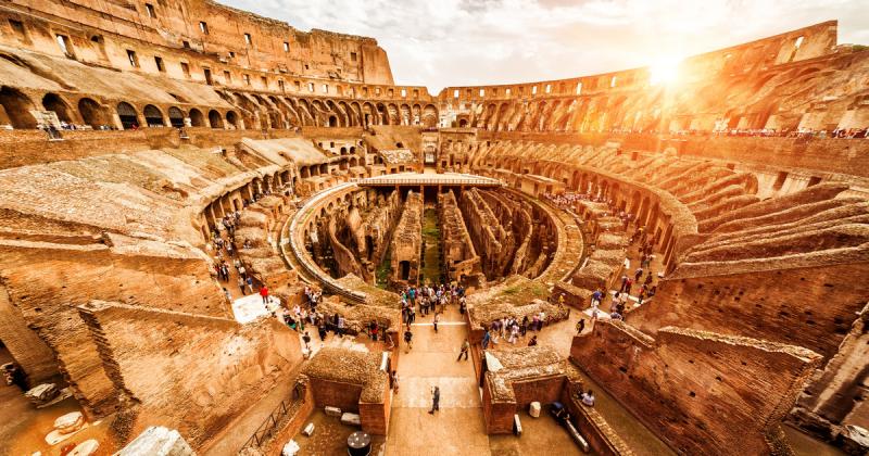 Đấu trường La Mã - Niềm tự hào của đế quốc La Mã một thời