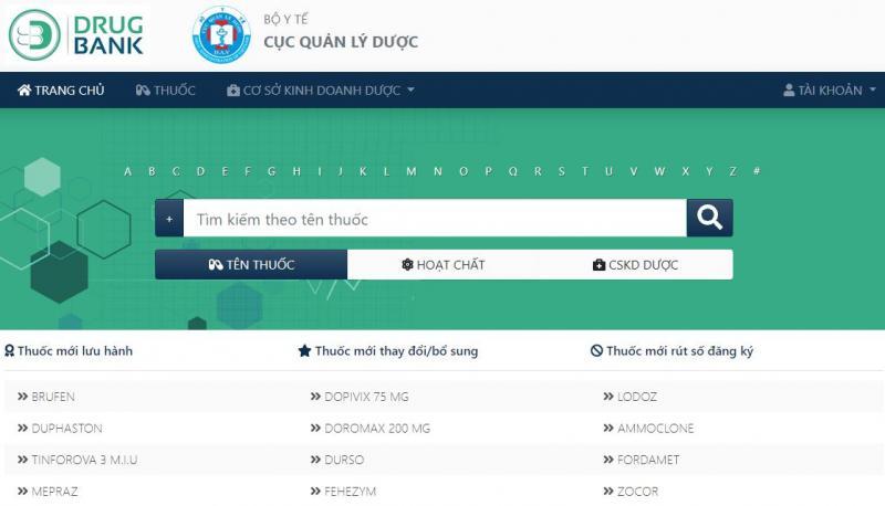 Lần đầu tiên Việt Nam có ngân hàng dữ liệu thuốc 'Drugbank.vn'