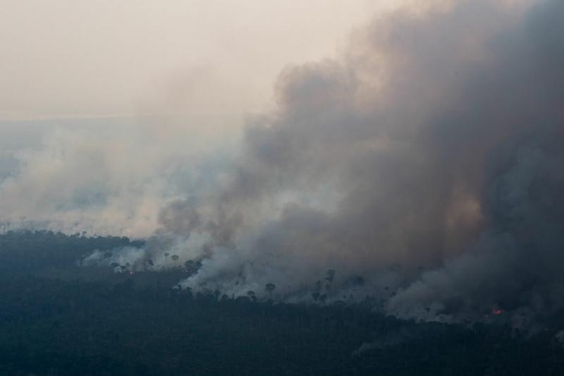Bất chấp rừng Amazon cháy to, Brazil từ chối 20 triệu USD tiền viện trợ từ G7