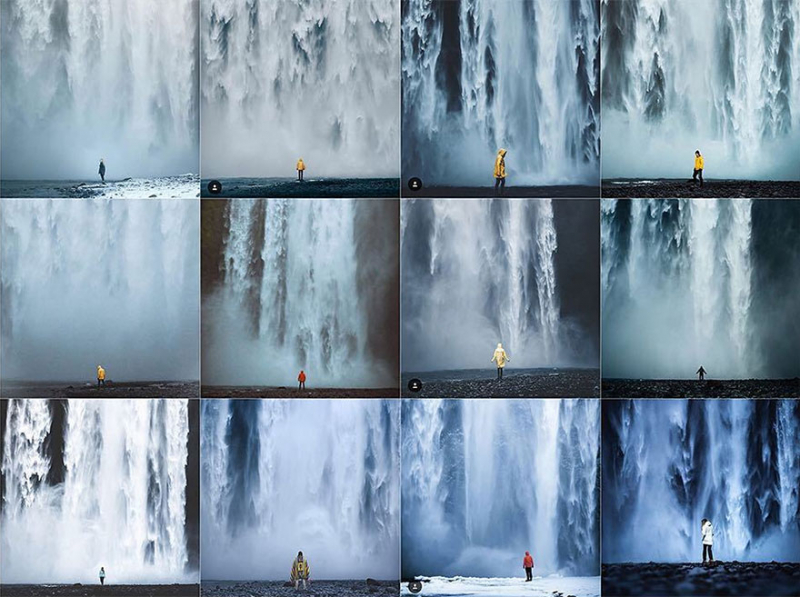 'Insta Repeat': Tưởng ảnh nghệ thuật nhưng hóa ra cũng chỉ là trăm tấm như một